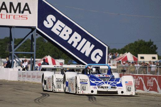 Dyson Racing March 16 2002 Sebring International