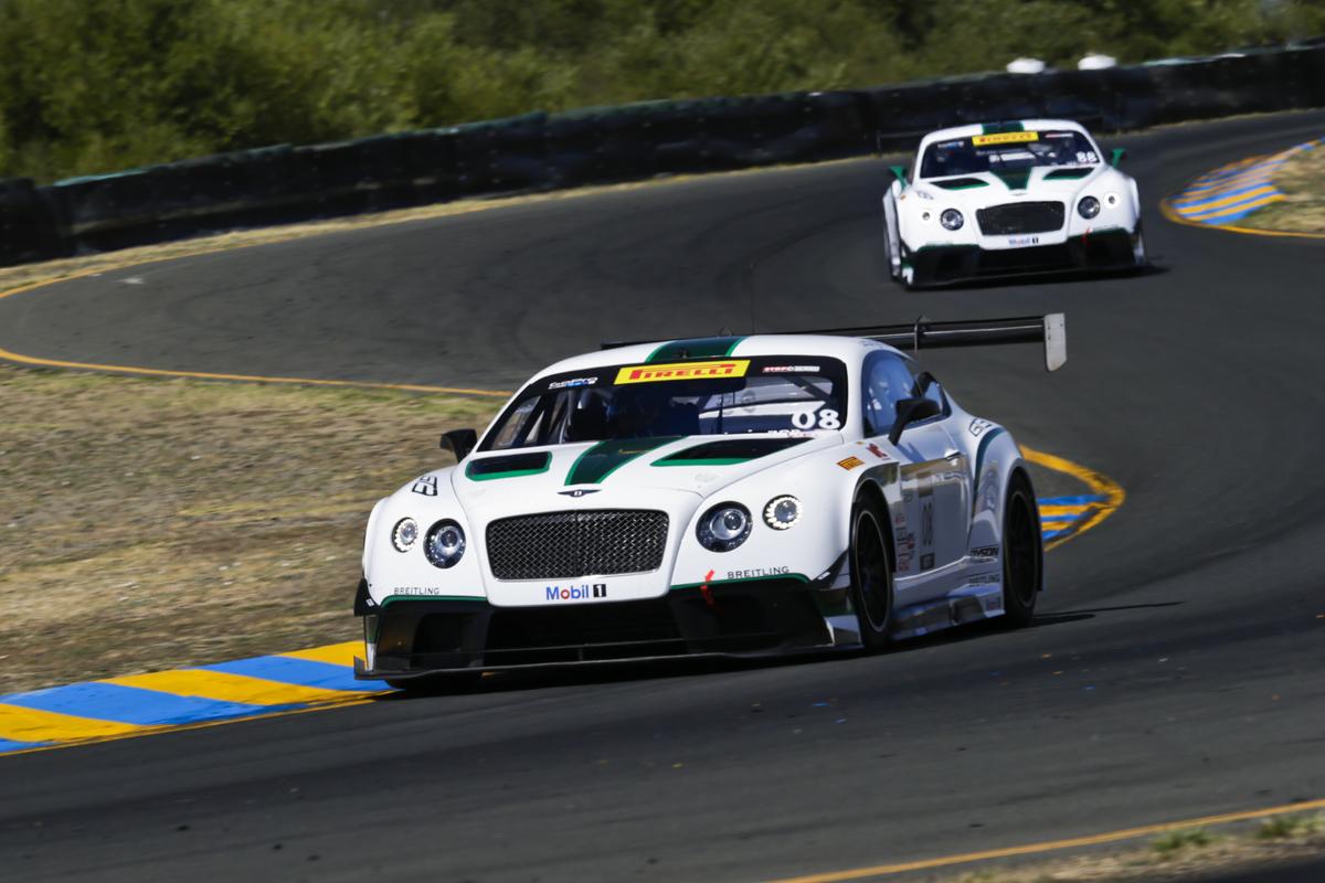Dyson Racing Team Bentley at Sonoma Raceway Pirelli World Challenge race weekend August 21-24 2014, Sonoma, California