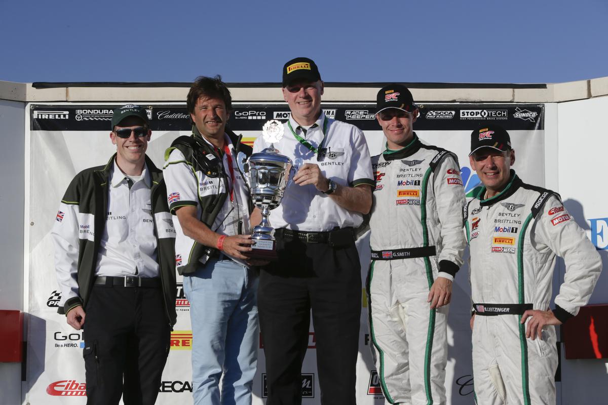 World Challenge at Miller Motorsports Park, Tooele Utah, Sept 11-13 2014