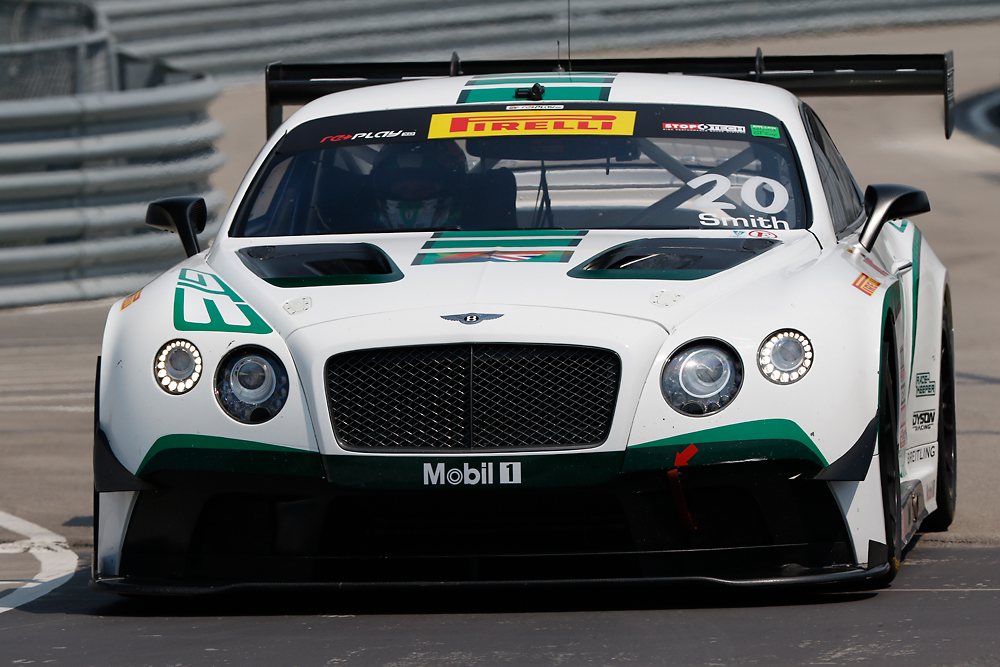 Guy Smith, #20 Bentley Team Dyson Racing, August 20-23 2015, Mil